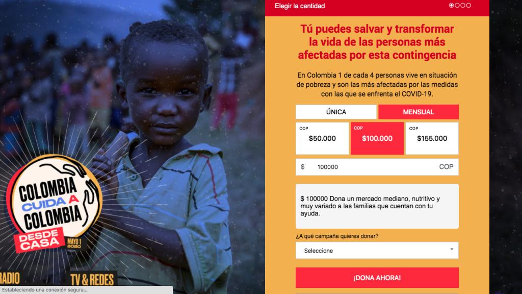 Colombia ayuda a Colombia