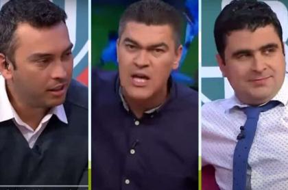 Julián Téllez, Eduardo Luis y Juan Felipe Cadavid