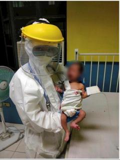 Bebé Kobe se recupera de coronavirus