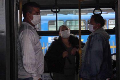 Pasajeros de SITP y TM en Bogotá
