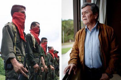 Guerrilleros Eln y 'Pablo Beltrán'