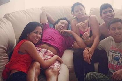 Betsy Liliana, Diomedes Díaz, Consuelo Martínez, Moisés y Luis Mariano