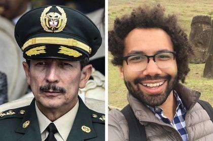 General (r) Nicacio Martínez y periodista Nick Casey