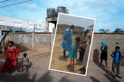 Imágenes muestran preocupante estado de desnutrición de niños Wayuu en plena crisis.