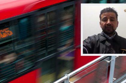Bus Transmilenio / Trabajador de Transmilenio denuncia situación precaria en el sistema
