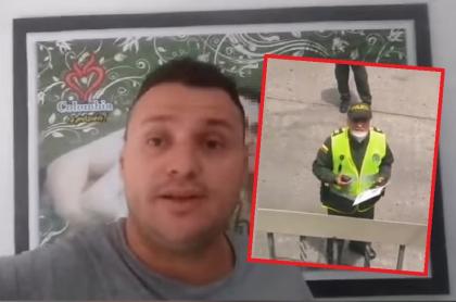 Hombre denuncia que le impusieron comparendo por trabajar desde la casa