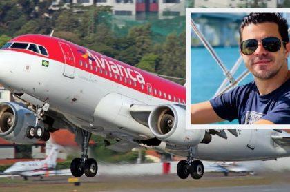 Avión de Avianca / Piter Albeiro, comediante colombiano