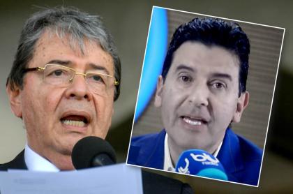 Carlos Holmes Trujilo y Néstor Morales