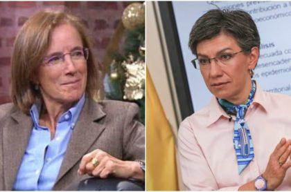 Salud Hernández ataca a Claudia López López por llegada de vuelo humanitario.