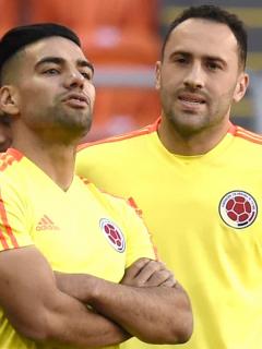 Falcao García y David Ospina - Selección Colombia
