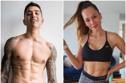 Andy Rivera y Lina Tejeiro