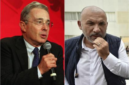 Álvaro Uribe Vélez y Roy Barreras