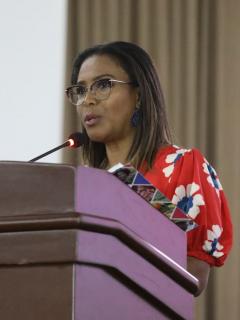 Ministra de Cultura Carmen Inés Vásquez