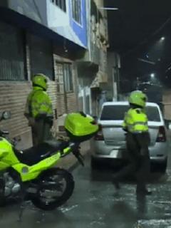 Lugar donde ocurrió el ataque a disparos contra una familia en Bogotá