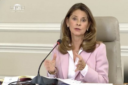 Marta Lucía Ramírez habla sobre llamar atenidos a ciudadanos