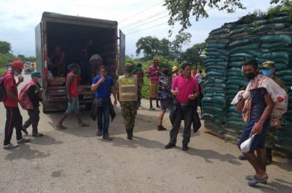Funcionaro suspendido por traslado de venezolanos en furgón