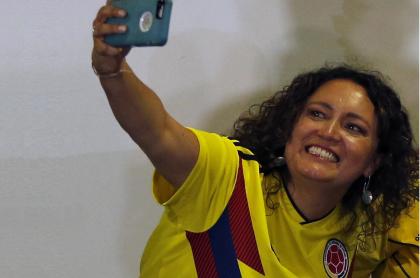 Angélica Lozano, senadora.