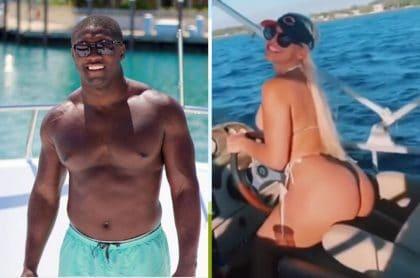 Jugador de la NFL y actriz porno