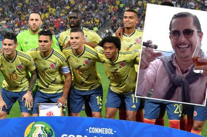 Selección Colombia y Juanpis González