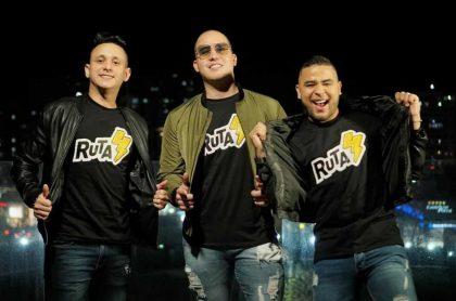 Tico Vega, Fabián Yepes y Gustavo Picalua