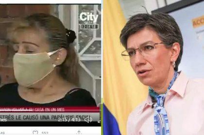 Edy Fonseca y Claudia López