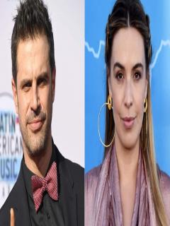 Mark Tacher, actor, y Mónica Fonseca, presentadora.