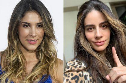 Daniela Ospina, modelo, y Manuela González, actriz.
