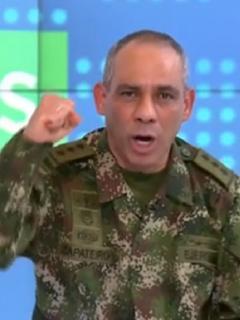 General Zapateiro, comandante del Ejército habla de perfilamiento.
