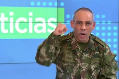 General Zapateiro, comandante del Ejército habla del caso de la niña indígena violada.