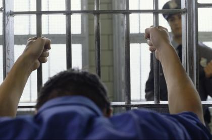 Preso en una cárcel