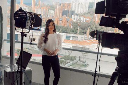 Isabella Atehortúa, exreina y presentadora.