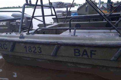 Lanchas de la Armada Nacional
