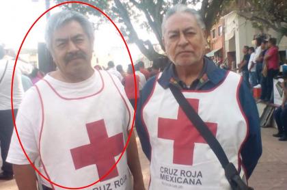 Golpean a paramédico de la Cruz Roja