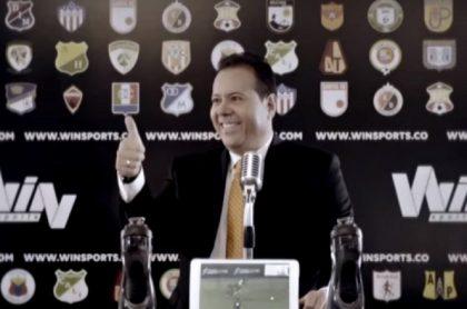 Javier Fernández 'cantante del gol'