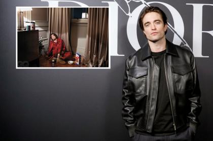 Robert Pattinson hace su sesión de fotos