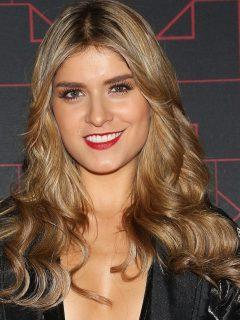 Laura Tobón, presentadora.