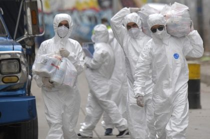 Casos de coronavirus en Colombia mayo 14