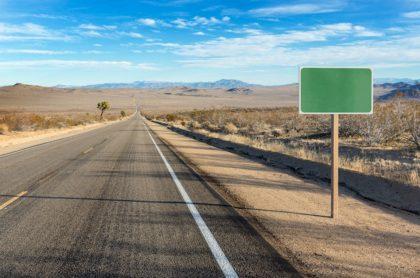 Carretera desolada