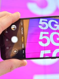 Teléfono con 5G