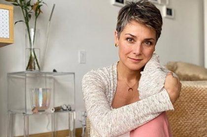 Silvia Corzo, presentadora.