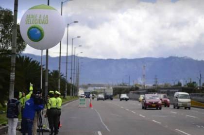 Límite de velocidad de 50 kilómetros en Bogotá