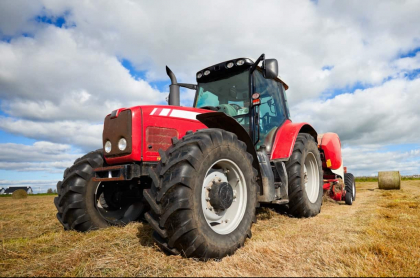 Tractor aplastó a un campesino