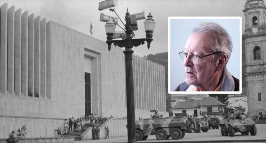 Libertad a general condenado por retoma del Palacio de Justicia