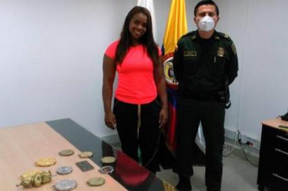 Leidy Solís recupera sus medallas