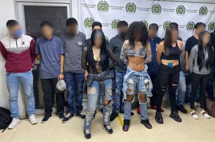 Capturados en fiesta de clandestina, en Antioquia
