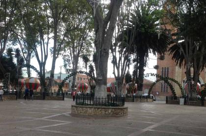 Parque Central de Mosquera
