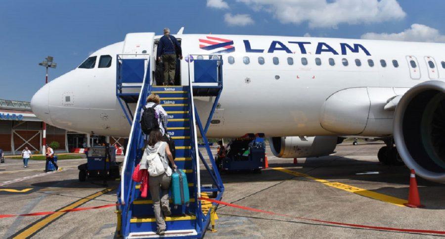Latam Airlines, imagen de referencia.