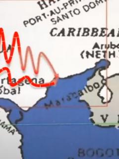 Mapa en poder de 'los Pachenca'