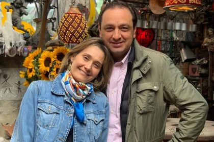 Jorge Alfredo Vargas e Inés María Zabaraín, periodistas.
