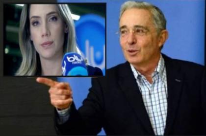 Entrevista de Álvaro Uribe con Camila Zuluaga en Blu Radio